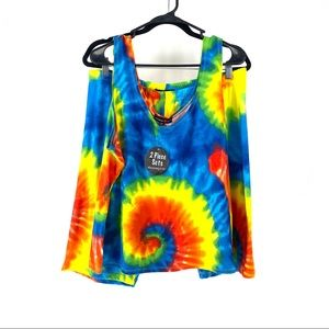 Absolutely <3 it! 2 pc set tie dye top and short